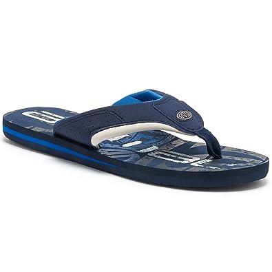7267e1699 Animal Childrens Boys Jekyl Logo Flip-Flops (4 UK) (Snorkel Blue)   Amazon.co.uk  Shoes   Bags