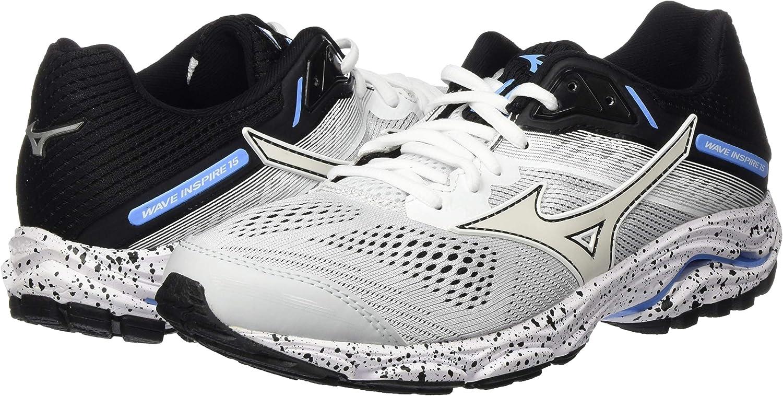 Mizuno Wave Inspire 15 Stabilitätsschuh Damen-Hellgrau, Schwarz, Zapatillas de Running Zapato de Estabilidad para Mujer: Amazon.es: Zapatos y complementos