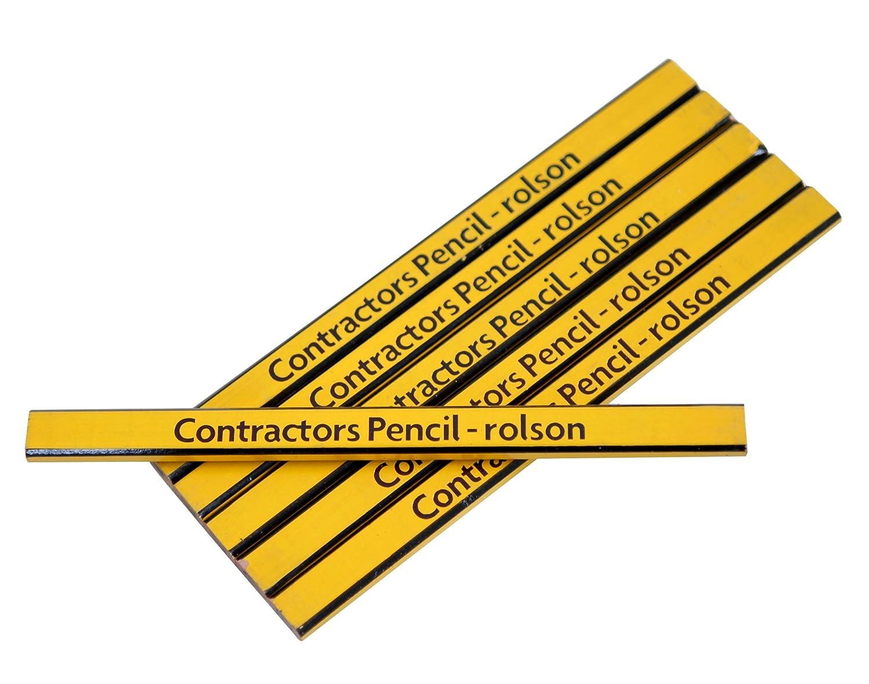 Rolson Contractors Pencil 6 Pieces