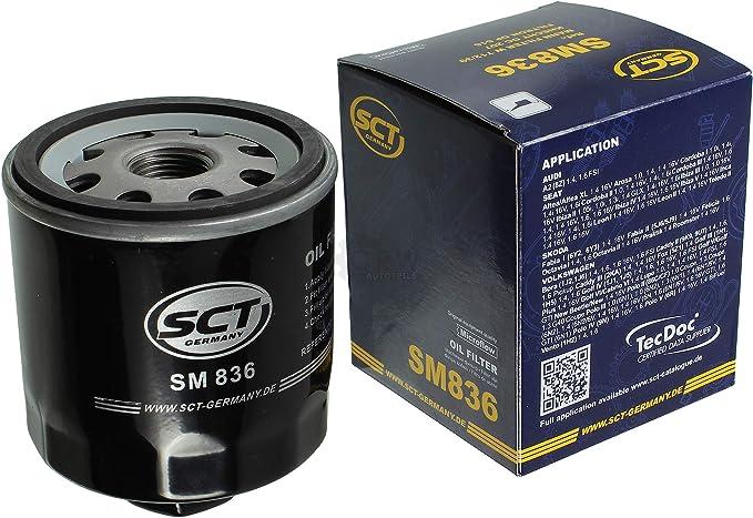 Filter Set Inspektionspaket 5 Liter Mannol Motoröl Extreme 5w 40 Api Sn Cf Sct Germany Ölfilter Auto