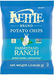 product image for Kettle Brand Potato Chips, Farmstand Ranch Kettle Chips, 1.5 Oz