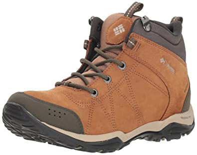 eb1392da9cfe Columbia Women s FIRE Venture MID Waterproof Low Rise Hiking Boots Brown  (Elk