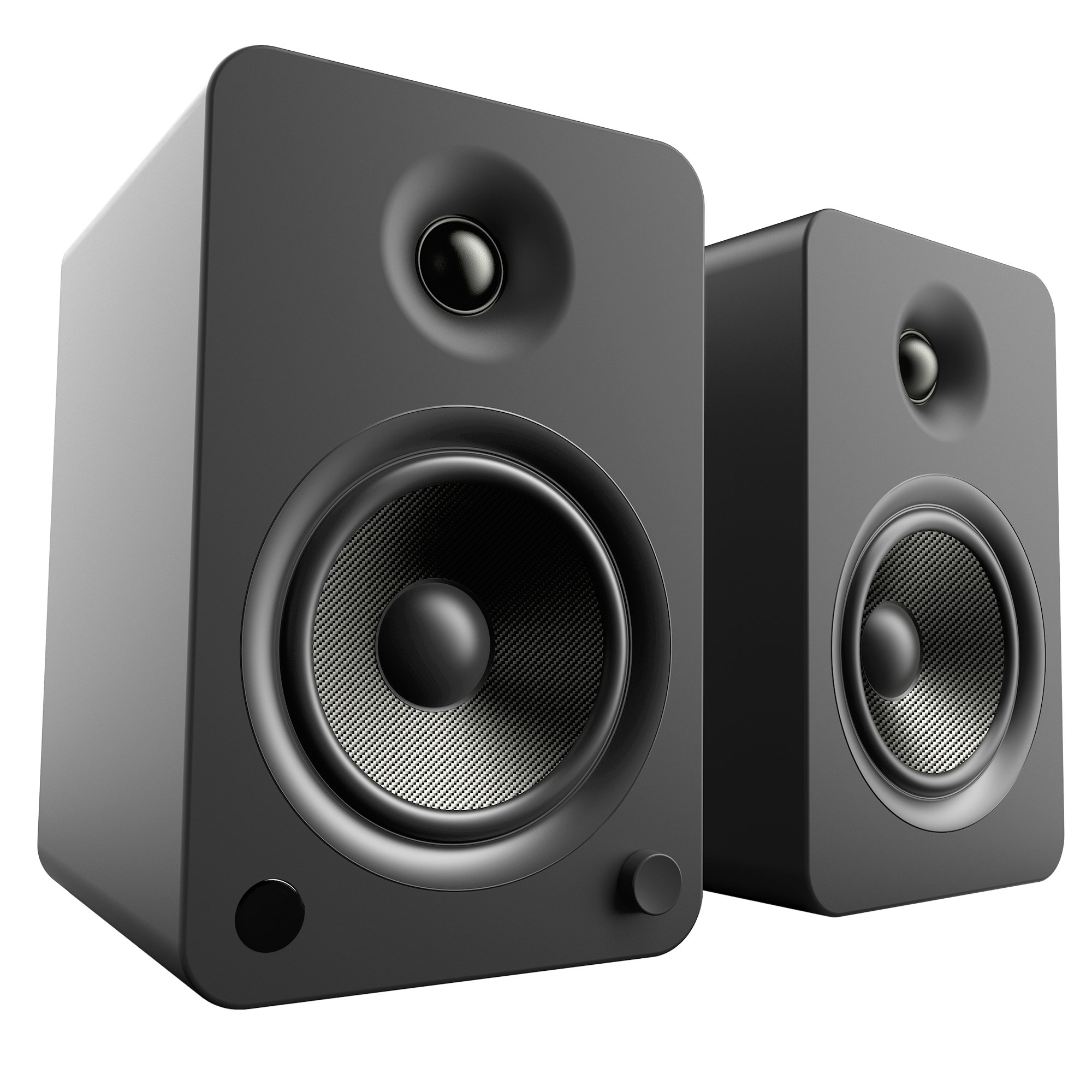 Kanto YU6 Powered Speakers with Bluetooth and Phono Preamp - Matte Black