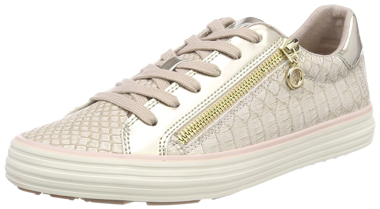 s.Oliver 23615, Zapatillas para Mujer 41 EU|Rosa (Rose/Gold)