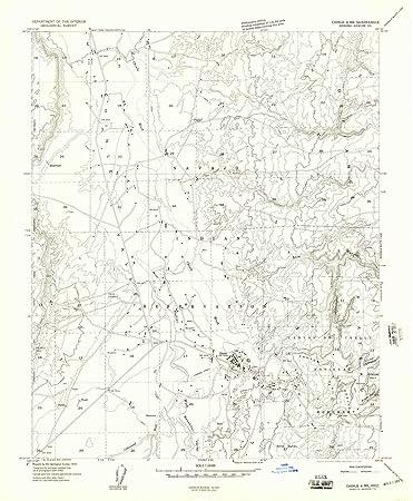 Amazon.com: YellowMaps Chinle 4 NE AZ topo map, 1:24000 Scale, 7.5 on