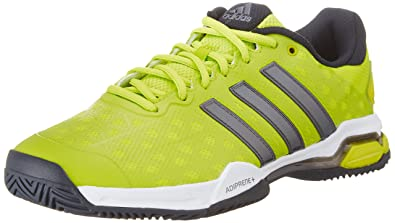 sale retailer ae223 dfeb4 adidas Barricade Club, Mens Tennis Shoes, Yellow - Gelb (Semi Solar Lime  S16