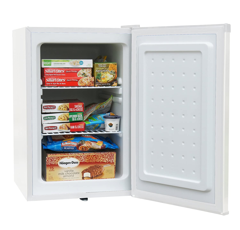 amazoncom spt uf214w upright freezer 21 cubic feet energy star white appliances
