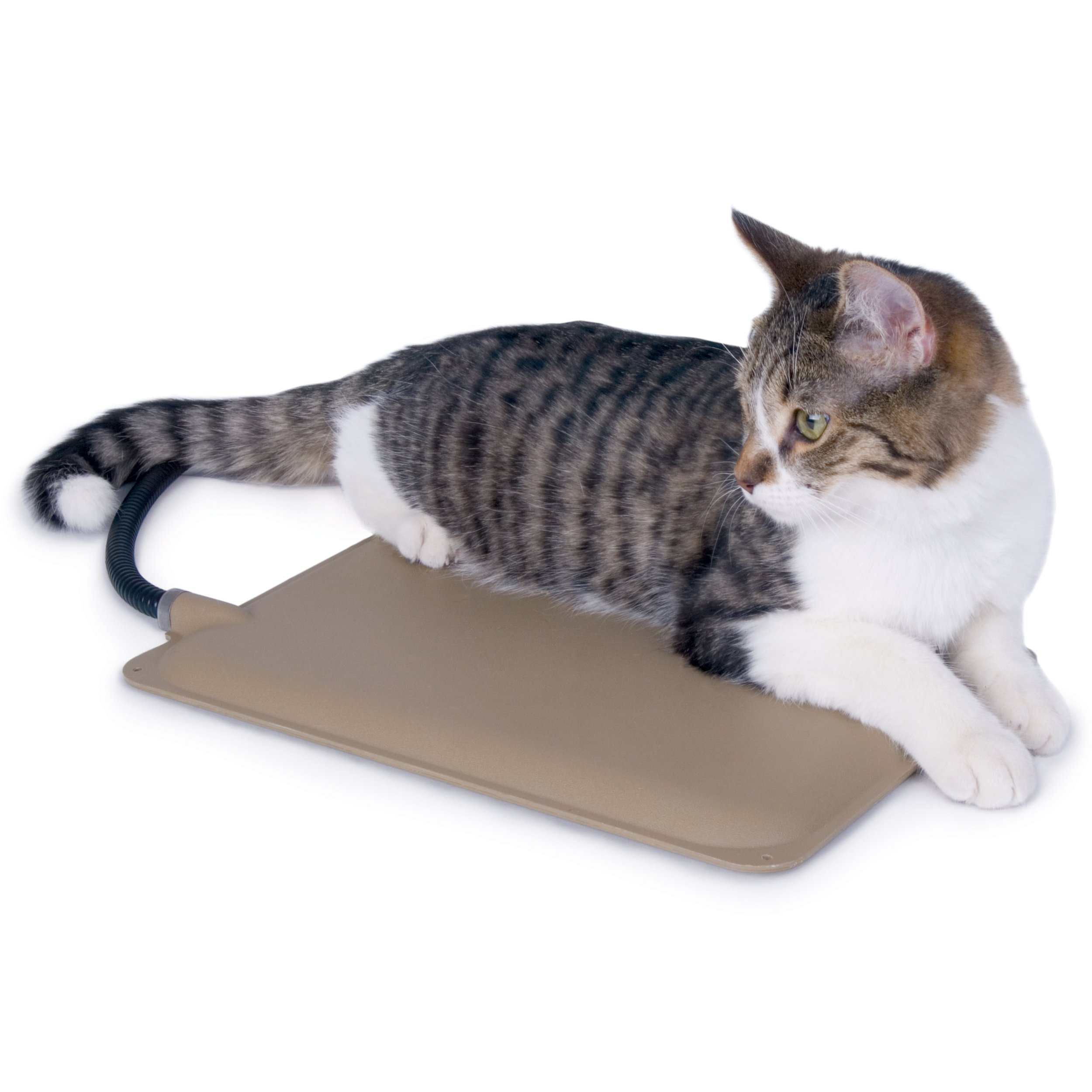 K&H Pet Products Extreme Weather Kitty Pad Petite Tan 9'' x 12'' 25W