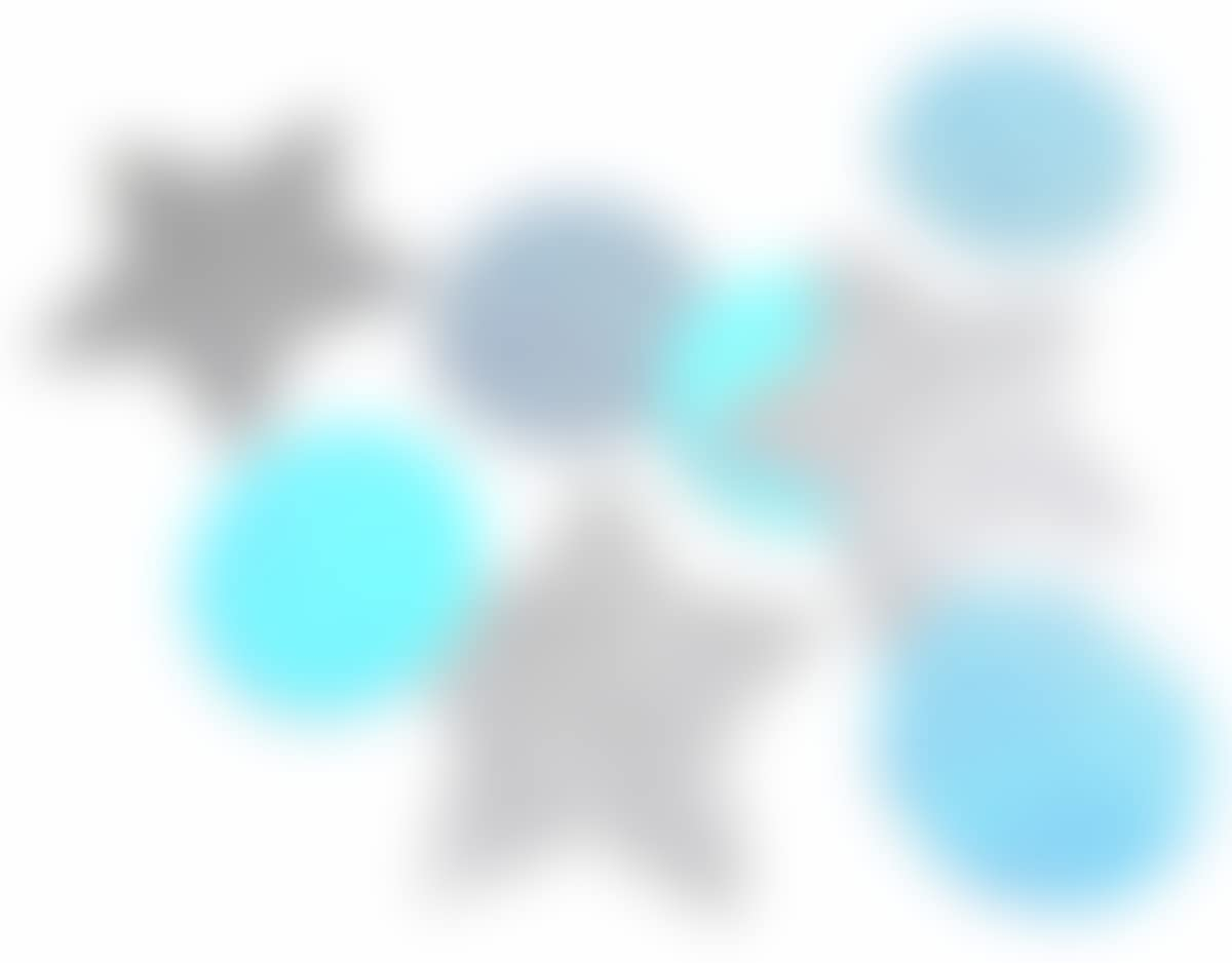 Rundes Konfetti Blau Und Stern Silber Glitter Tischdeko Weihnachten