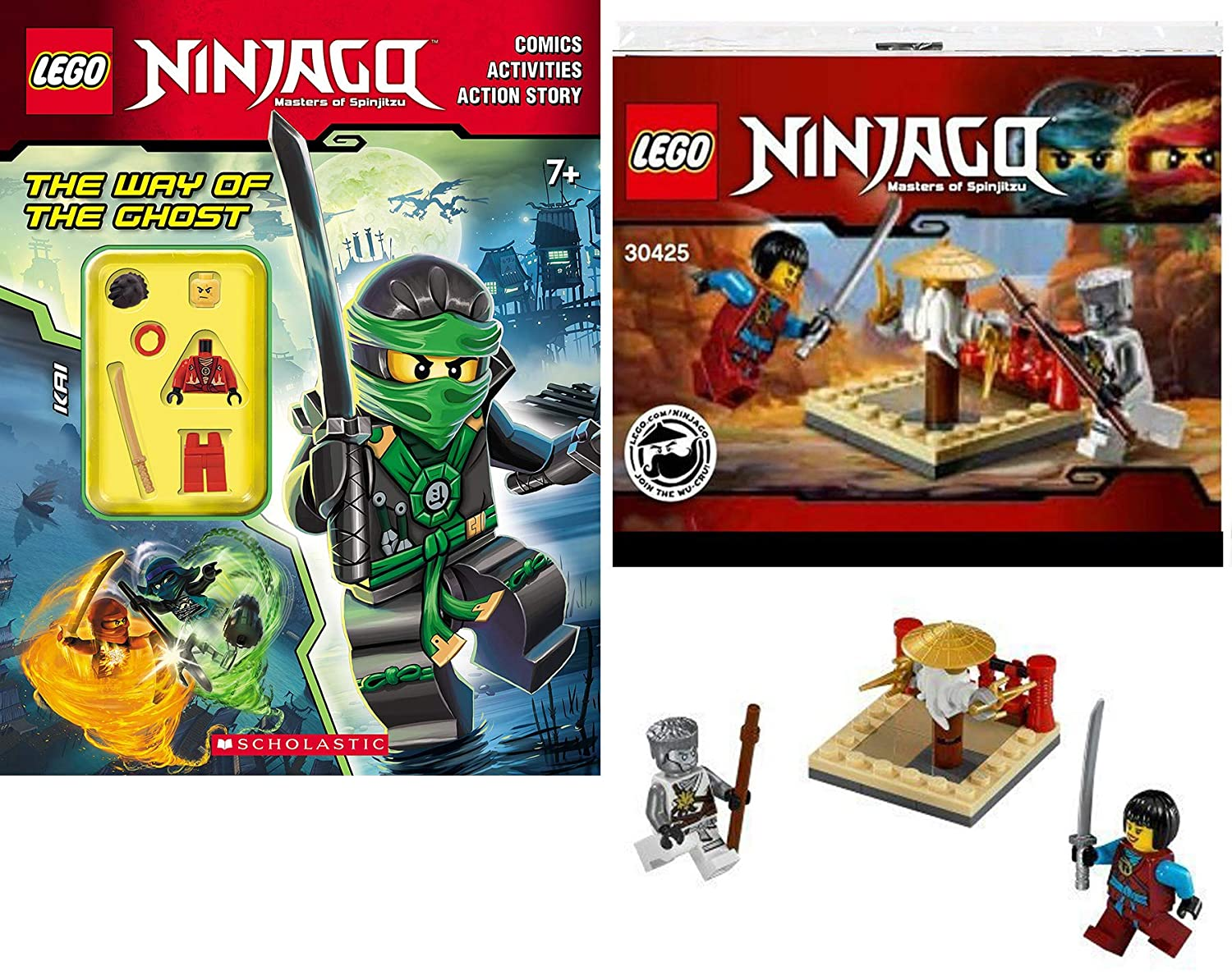 Amazon.com: LEGO Ghost Ninja Masters of Spinjitzu Ninjago ...
