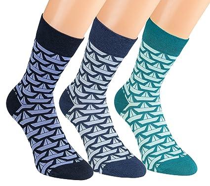 4284a4325f822 Vitasox Damen Socken bunt ohne Gummi ohne Naht 6 Paar: Amazon.de ...