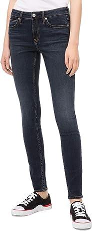 Calvin Klein Women's CKJ 001 Mid Rise Super Skinny Fit Jean