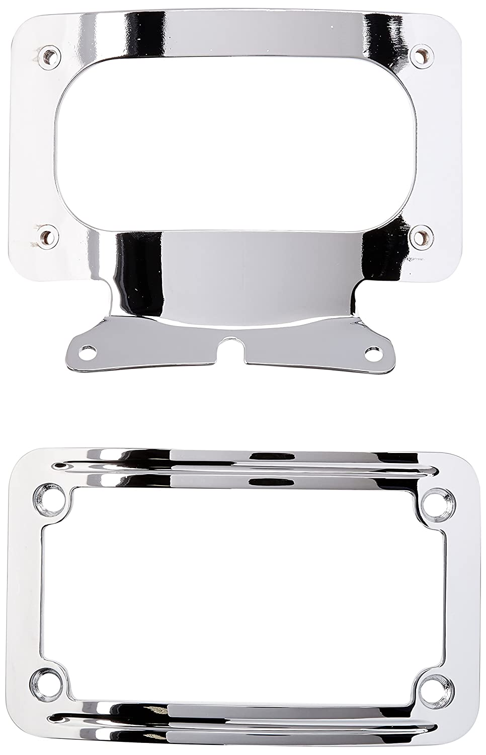 Kuryakyn 3163 Curved License Plate Mount