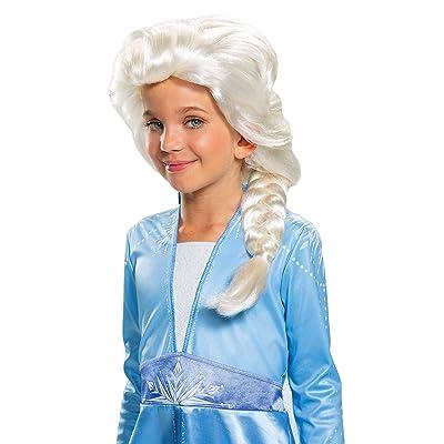 Disguise Disney Elsa Frozen 2 Girls' Wig: Toys & Games