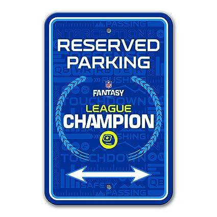 55901c3badb Amazon.com   Fremont Die NFL Fantasy Football Parking Sign