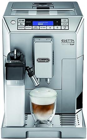 DeLonghi Eletta Cappuccino TOP ECAM 45.366.S Independiente Totalmente automática Máquina espresso 14tazas Plata -