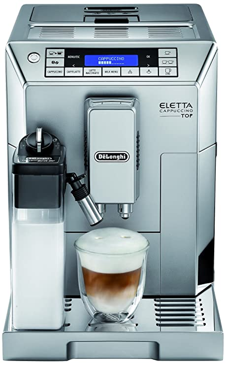 DeLonghi Eletta Cappuccino TOP ECAM 45.366.S Independiente ...