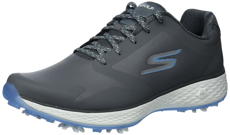 Skechers Women's Go Pro Golf Shoe B074VLC7CX 10 B(M) US|Gray/Blue