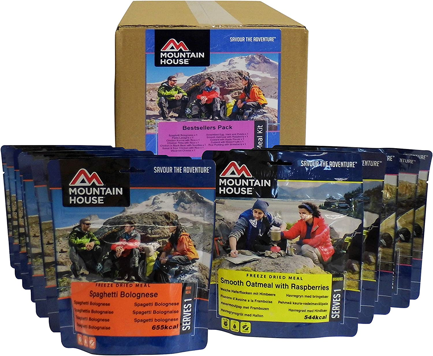 Mountain House – ración de emergencia/Pack: Amazon.es: Jardín