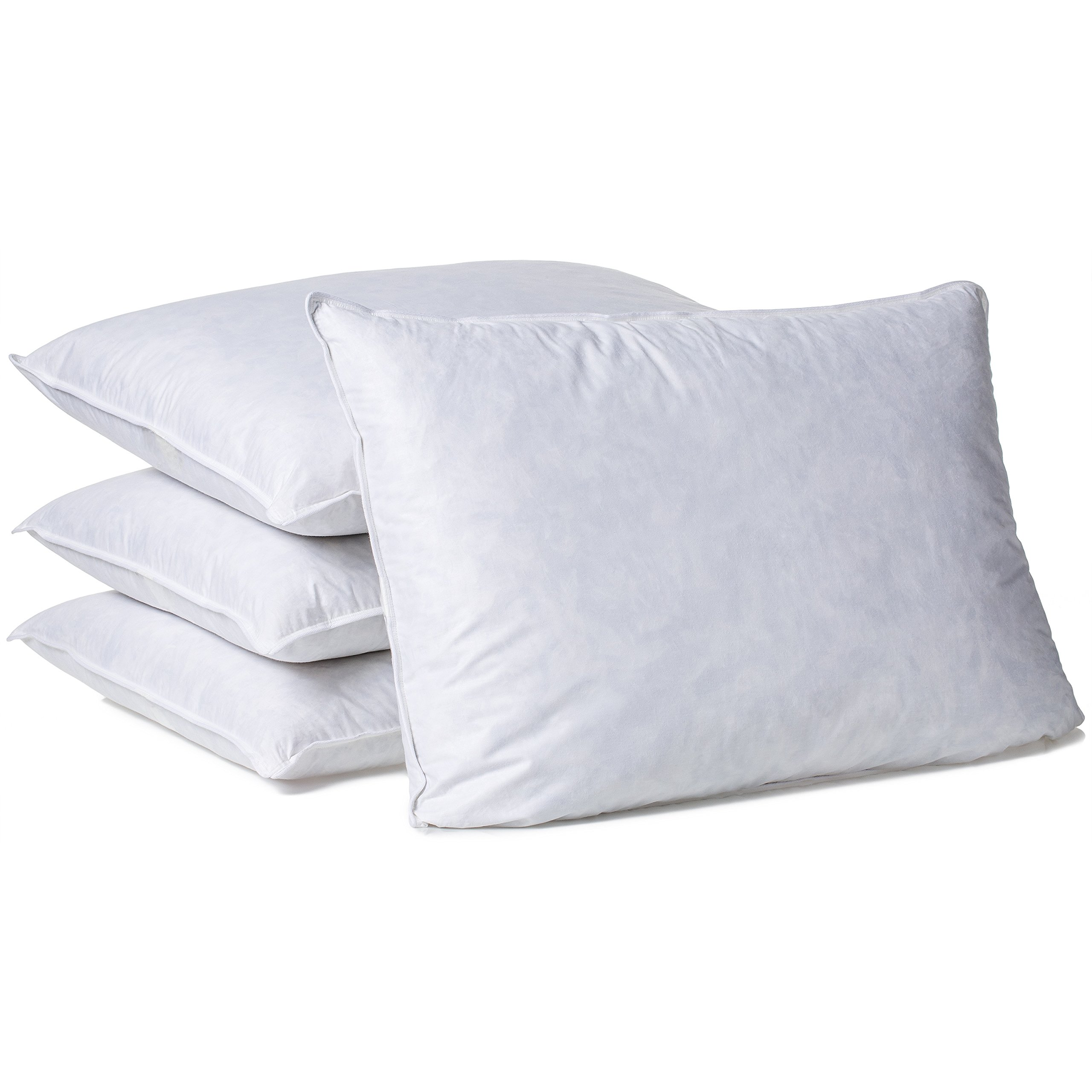 Hotel Madison TruLoft Medium Firm Feather Pillow (Set of 4) King