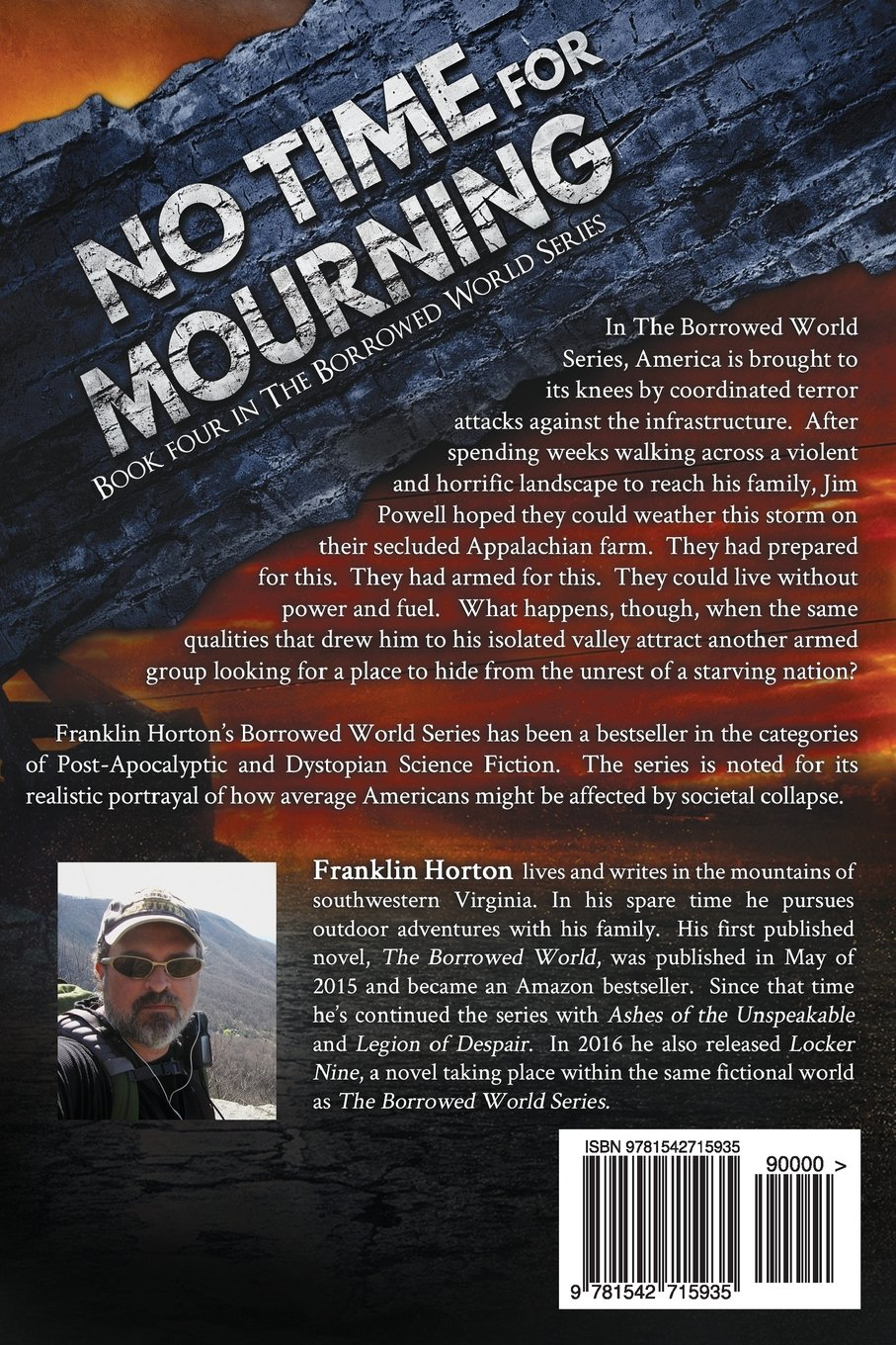 No Time For Mourning: Book Four in The Borrowed World Series ...