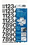 Amazon Price History for:Chartpak Self-Adhesive Vinyl Numbers, 1 Inches High, Black, 44 per Pack (01130)