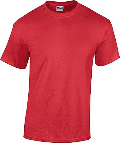 Heliconia LOW PRICE Blank Men/'s T Shirt Plain Work Mens Gildan Tee