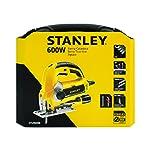Stanley STSJ0600K-B3 Sierra Caladora, Velocidad Variable, Acción Pendular de 4 Etapas - Ajustable Biselados de 0° - 45...