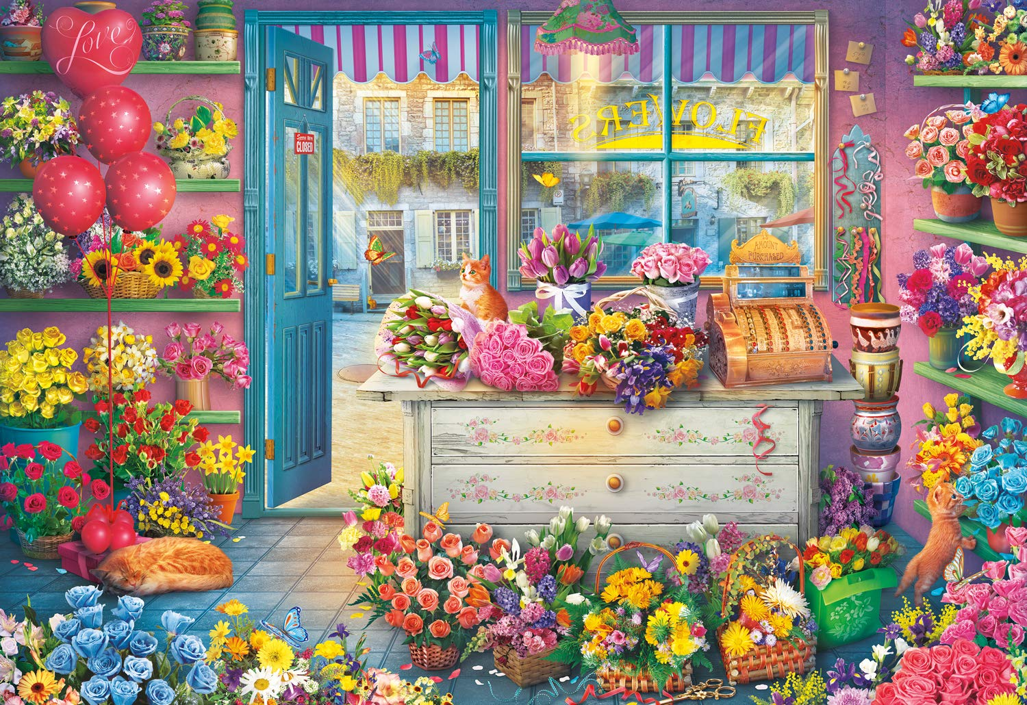 in Full Bloom 2000Piece Jigsaw Puzzle 2087 Buffalo Games