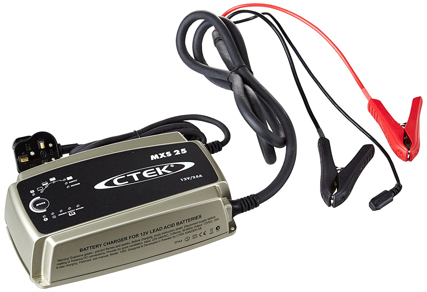 Ctek Mxs 25 25a 12v 8 Stage Car Battery Charger Diy Related Circuits Lead Acid Circuit Tools