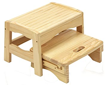 Sensational Buy Safety 1St Wooden Two Step Stool Online At Low Prices In Caraccident5 Cool Chair Designs And Ideas Caraccident5Info