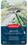 Derwent Artists Pencils Tin 12