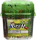 "Sour Punch 6"" Wrapped Sour Straw Twists 4.23lb Jar"