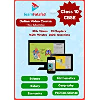 CBSE Board Class 10 Full Video Course - Maths, Science and SST(Online)