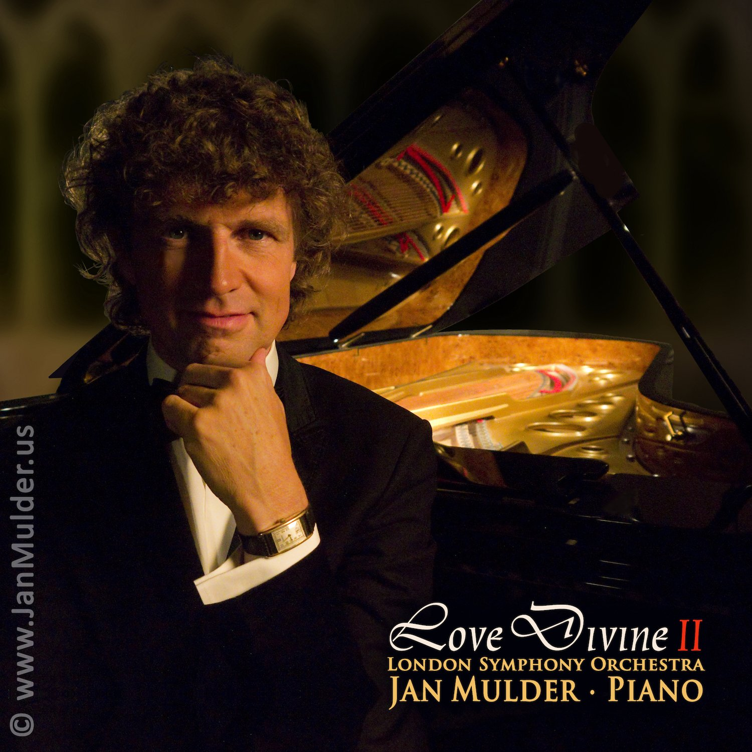 Love Divine 2: inspirational sacred album by pianist Mulder & London Symphony Orchestra (When peace like a river, The Lord's Prayer, Spirit of Love)