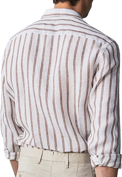 MASSIMO DUTTI 0108/075 - Camiseta de Manga Corta para Hombre ...