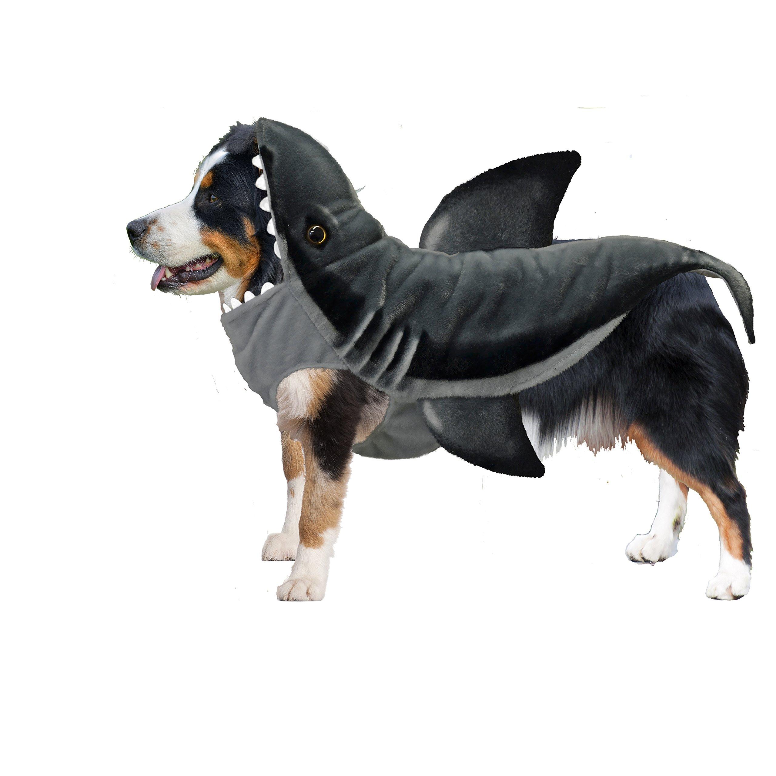 Amazing Pet Products Realistic Shark Dog Halloween Costume (Large)