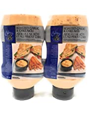 Culinary Treasures Roasted Garlic & Chili Aioli Dipping Sauce & Sandwhich Spread - 2 Pack - 1500 mL