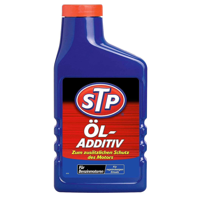 STP GST60450GE06 Ö l-Additiv fü r Benzinmotoren und fü r bessere Viskositä t, beugt Verschleiß , Reibung  Oxidation vor, 450 ml 60450L