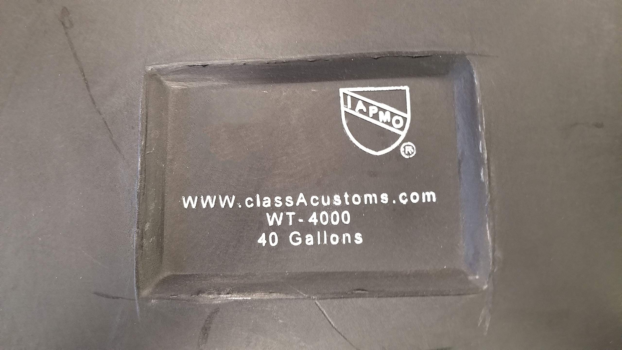 Class A Customs 40 Gallon RV Waste Black Gray Water Holding Tank Concession 56.50'' x 24.50'' x 9'' WT-4000 by Class A Customs (Image #3)
