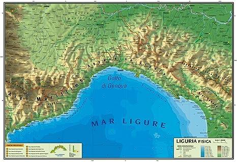 Cartina Turistica Liguria.Carta Geografica Murale Regionale Liguria 100x140 Bifacciale Fisica E Politica Amazon It Cancelleria E Prodotti Per Ufficio