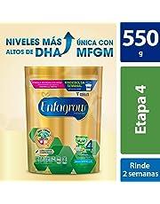 Leche de Crecimiento en Polvo para Niños mayores de 3 años Enfagrow Premium Etapa 4 Bolsa de 550 gramos