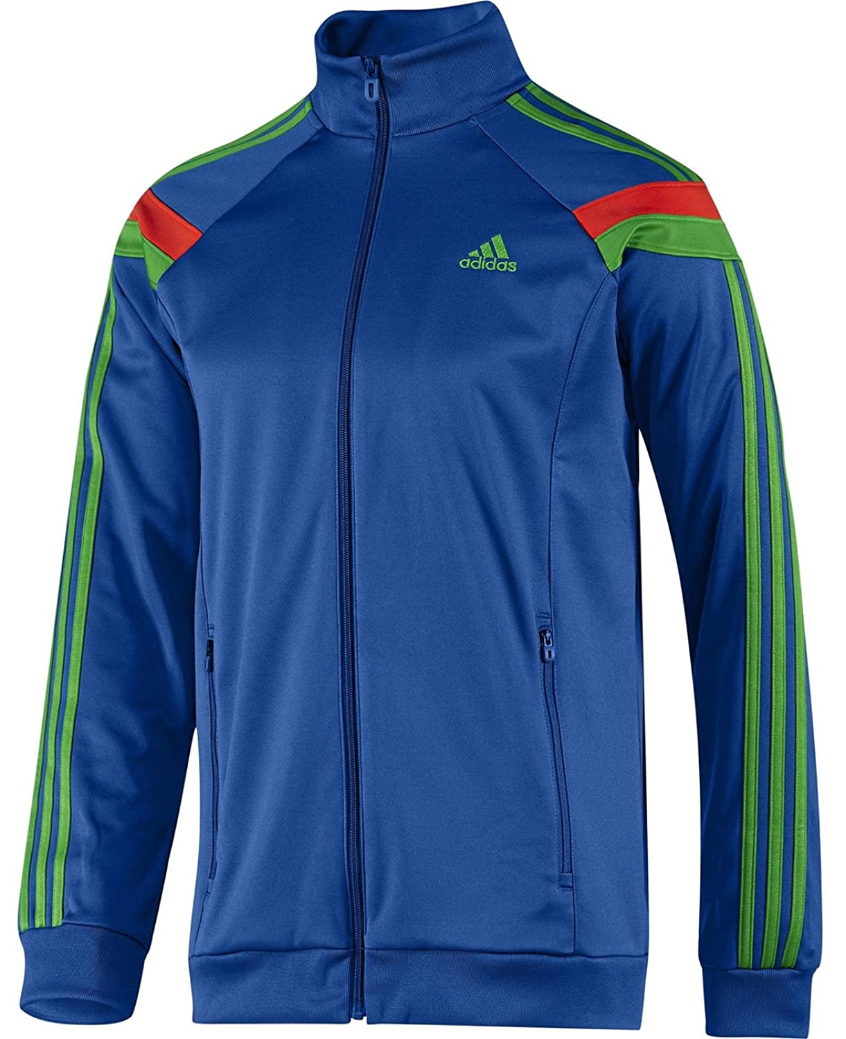 Adidas Mens SE Anthem F50619 Poly Tracktop Training Jacket Retro Style Small,Medium,Large,XL