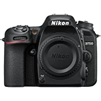 Nikon D7500 Fotocamera Reflex Digitale con Obiettivo AF-S DX NIKKOR 18–140mm f/3.5-5.6G ED VR, 20.9 Megapixel, Nero