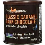 Castle Kitchen Classic Caramel Premium Dark Hot Chocolate Mix - Vegan, Plant Based, Gluten Free, Dairy Free, Non-GMO…