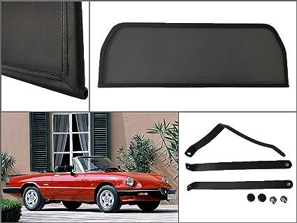 1994-2006 Parabrisas para descapotable Deflector de Aire Deflector de Viento Deflector de Viento para Alfa Romeo Spider 916