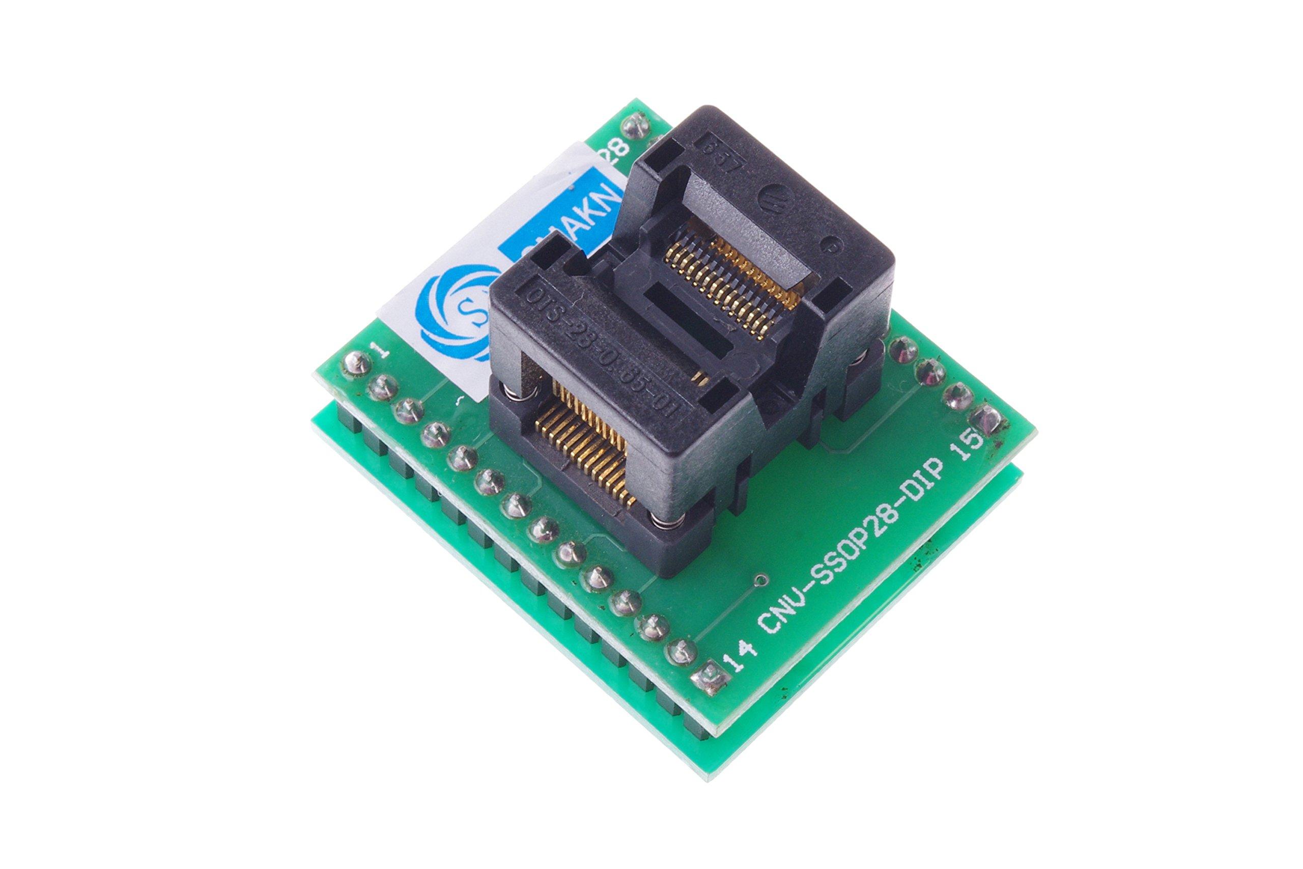SMAKN® SSOP28 To DIP28 Programmer Adapter