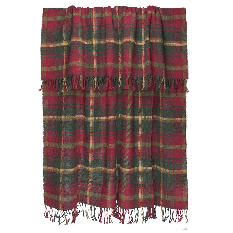 Amazon.com: Prince of Scots Highland Tartan Tweed 100% Pure New Wool ...