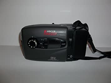 amazon com minolta master c 560c vhs c camcorder electronics rh amazon com Minolta Digital Cameras Minolta Cameras