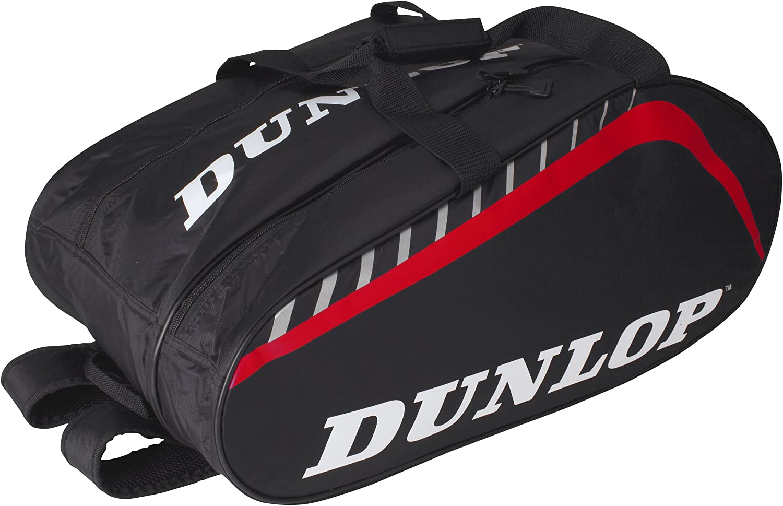 Dunlop Paletero Play Grande - Mochila, Color Negro/Rojo: Amazon.es: Deportes y aire libre